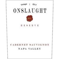 Onslaught 2017 Cabernet Sauvignon Reserve, Napa Valley