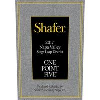 Shafer 2017 One Point Five, Cabernet Sauvignon, Stags Leap District, Napa Valley