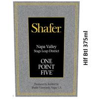 Shafer 2018 One Point Five, Cabernet Sauvignon, Stags Leap District, Napa Valley, Hlf Btl 375ml