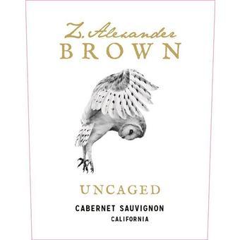 Z. Alexander Brown 2018 Uncaged, Cabernet Sauvignon, California