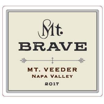 Mt. Brave 2017 Cabernet Sauvignon, Mt. Veeder, Napa Valley