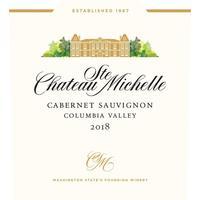 Chateau Ste. Michelle 2018 Cabernet Sauvignon, Columbia Valley