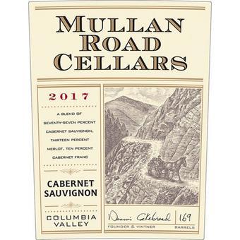 Mullan Road 2017 Cabernet Sauvignon, Cakebread, Columbia Valley