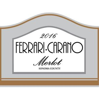 Ferrari-Carano 2016 Merlot, Sonoma