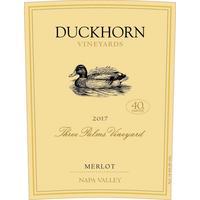 Duckhorn 2017 Merlot, Three Palms, Napa Valley