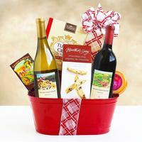 Winter Wine Wonderland Holiday Gift Tin