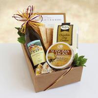 California Delicious Chardonnay Classic Wine & Cheese Gift