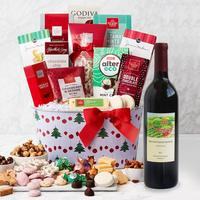 Merrymaker Deluxe Holiday Gift Basket