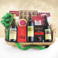 California Wine Trio Gourmet Gift Basket