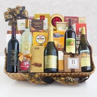 California Splendor Wine and Gourmet Gift Basket