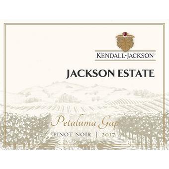 Kendall Jackson 2017 Pinot Noir, Jackson Estate, Petaluma Gap, Sonoma