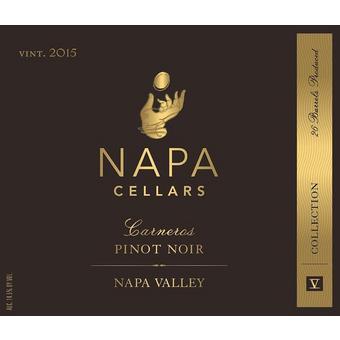 Napa Cellars 2015 Pinot Noir, V Collection, Carneros