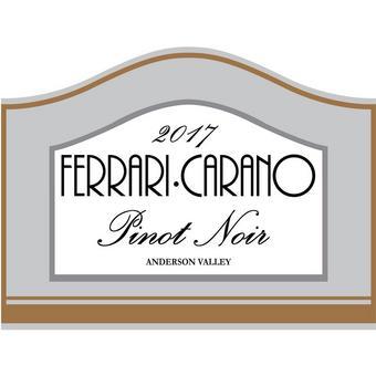 Ferrari-Carano 2017 Pinot Noir, Anderson Valley