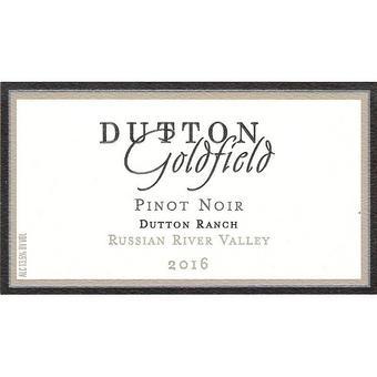 Dutton Goldfield 2016 Pinot Noir, Dutton Ranch, Russian River Valley