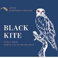 Black Kite 2015 Pinot Noir, Soberanes Vyd. Santa Lucia Highlands