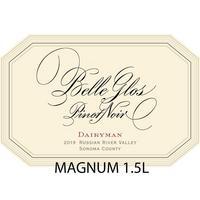 Belle Glos 2019 Pinot Noir, Dairyman Vineyard, Russian River Valley, Magnum 1.5L