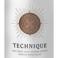 Technique 2017 Pinot Noir, Russian River Valley