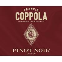 Coppola 2018 Pinot Noir, Oregon, Diamond Collection, Golden Tier