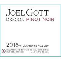 Joel Gott 2018 Pinot Noir, Willamette Valley