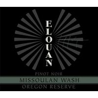 Elouan 2016 Pinot Noir Reserve, Missoulan Wash, Oregon