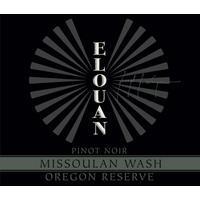 Elouan 2017 Pinot Noir Reserve, Missoulan Wash, Oregon