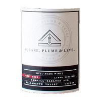 Square, Plumb & Level 2017 Pinot Noir, Libra Vyd., Yamhill-Carlton, Willamette Valley