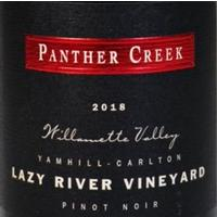 Panther Creek 2018 Pinot Noir, Lazy River Vyd.,Yamhill-Carlton, Willamette Valley