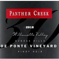 Panther Creek 2018 Pinot Noir, De Ponte Vyd.,Dundee Hills, Willamette Valley