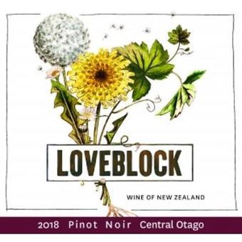 Loveblock 2018 Pinot Noir, Central Otago