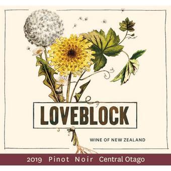 Loveblock 2019 Pinot Noir, Central Otago