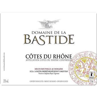 Domaine de la Bastide 2019 Cotes du Rhone