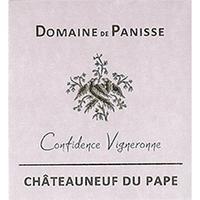 Domaine de Panisse 2016 Chateauneuf du Pape, Confidence Vigneronne