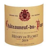 Henry de Floret 2019 Chateauneuf du Pape