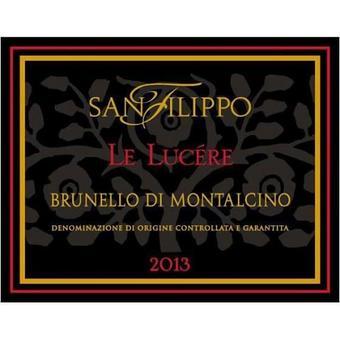 Brunello Di Montalcino 2013 Le Lucere, San Filippo