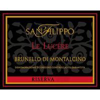 San Filippo 2013 Brunello Di Montalcino Riserva, Le Lucere