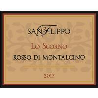 San Filippo 2017 Rosso di Montalcino, Lo Scorno