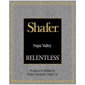 Shafer 2017 Relentless, Syrah, Napa Valley