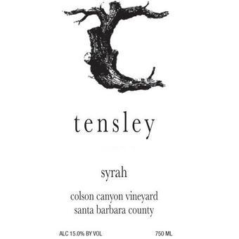 Tensley 2019 Syrah, Colson Canyon, Santa Barbara