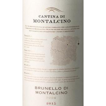 Cantina di Montalcino 2015 Brunello di Montalcino