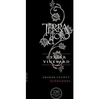 Terra D'Oro 2017 Deaver Vyd. 135 Year Old Vine Zinfandel, Amador