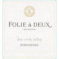Folie a Deux 2016 Zinfandel, Dry Creek Valley