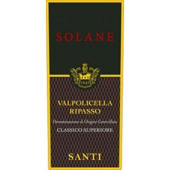 Santi 2016 Valpolicella Ripasso Classico Superiore DOC, Solane
