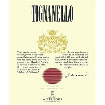 Tignanello 2017 Toscana IGT, Marchesi Antinori