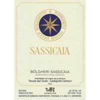 Sassicaia 2016 Tenuta San Guido, Bolgheri-Sassicaia