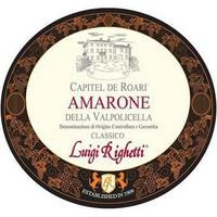 Luigi Righetti 2016 Amarone Classico, Capitel Roari