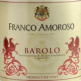 Franco Amoroso 2015 Barolo