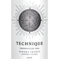 Technique 2016 Proprietary Red, Sonoma Valley