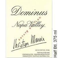 Dominus 2015 Napa Valley Hlf Btl, 375 ml