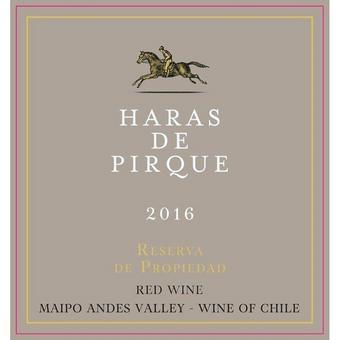 Haras De Pirque 2016 Reserva de Propiedad, Maipo Valley