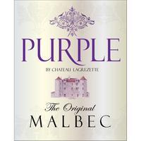 Purple 2016 Malbec, Cahors, Chateau Lagrezette